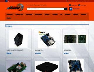 projetoarduino.com.br screenshot