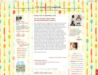 projetovegan.blogspot.com.br screenshot