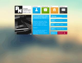 projets-numeriques.fr screenshot