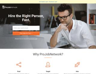 projobnetwork.com screenshot