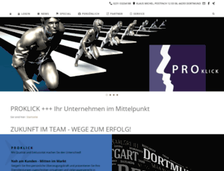 proklick.de screenshot
