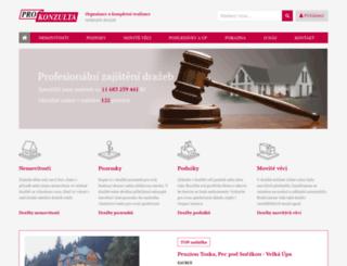 prokonzulta.cz screenshot