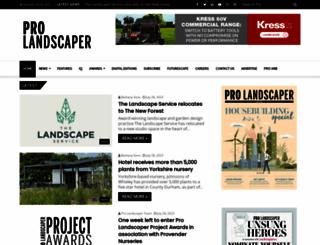 prolandscapermagazine.com screenshot