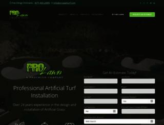 prolawnturf.com screenshot