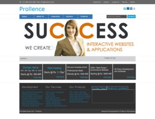 prollence.com screenshot
