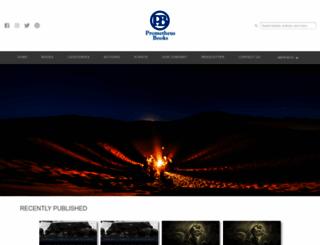 prometheusbooks.com screenshot