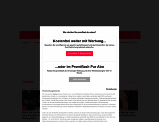 promiflash.de screenshot