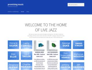 promising-music.com screenshot