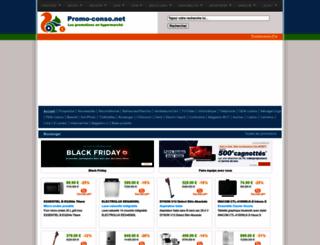 promo-conso.net screenshot
