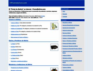 promobolivia.com screenshot