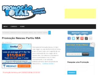 promocaototal.com.br screenshot