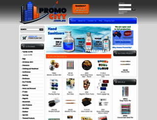 promocity.com.au screenshot