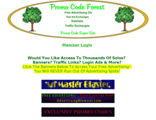 promocodeforest.com screenshot