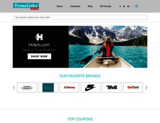 promocodesforyou.com screenshot