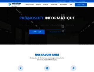 promosoft.fr screenshot