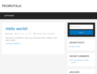 promotalk.net screenshot