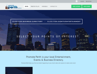 promoteperth.com.au screenshot