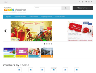 promotionalgiftvoucher.com screenshot