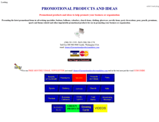 promotionalproductsandideas.com screenshot