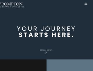 prompton.com screenshot