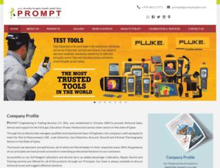 promptqatar.com screenshot