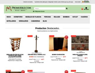 promueble.es screenshot