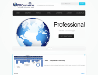 pronetworks.org screenshot