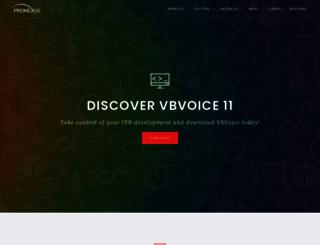 pronexus.com screenshot
