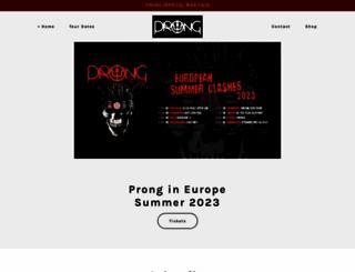 prongmusic.com screenshot