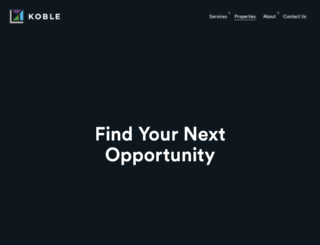 properties.koble.ca screenshot