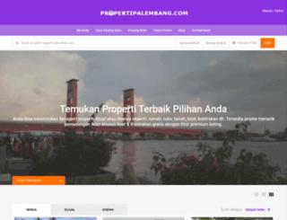 propertipalembang.com screenshot