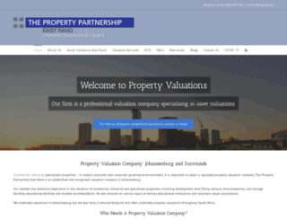 property-valuation.co.za screenshot