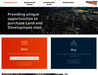 property.networkrail.co.uk screenshot