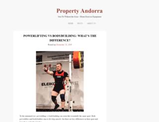 propertyandorra.com screenshot