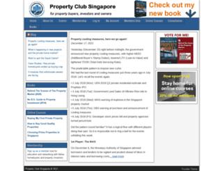 propertyclubsg.com screenshot