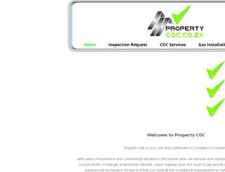 propertycoc.co.za screenshot