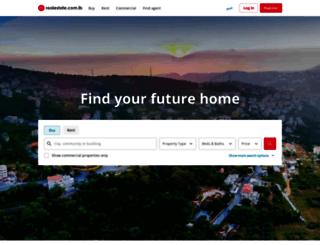 propertyfinder.com.lb screenshot