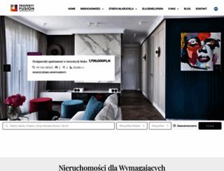 propertyfusion.pl screenshot