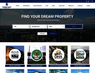propertyguide.com.pk screenshot