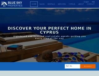 propertyincyprus.com screenshot