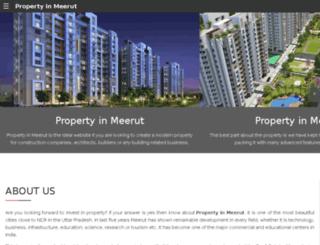 propertyinmeerut.in screenshot
