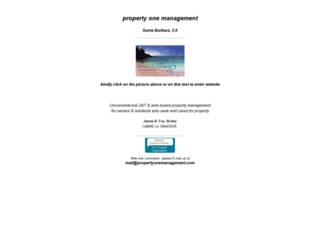 propertyonemanagement.com screenshot