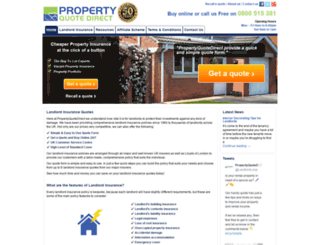 propertyquotedirect.co.uk screenshot