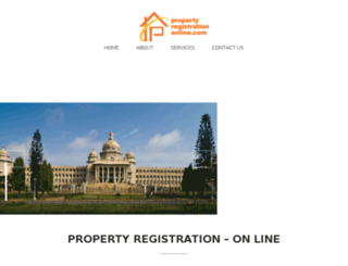 propertyregistrationonline.com screenshot