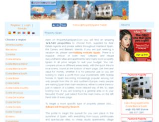 propertysalespain.com screenshot