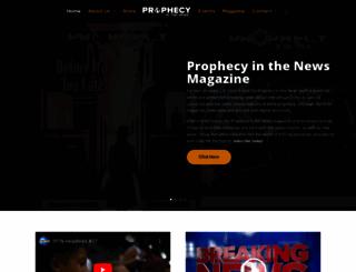 prophecyinthenews.com screenshot