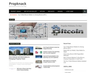 propknack.com screenshot