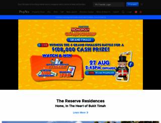 propnex.com screenshot