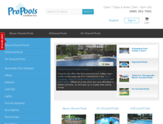 propools.com screenshot