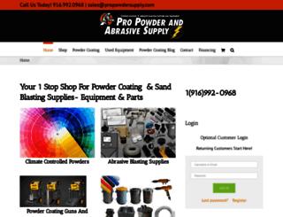 propowdersupply.com screenshot